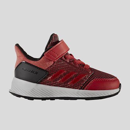 Boty adidas Performance RapidaRun EL I Červená
