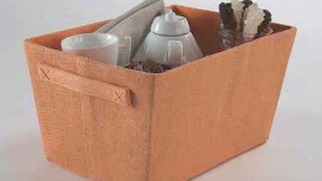 Oranžový úložný košík Compactor Rope, šířka32,5cm