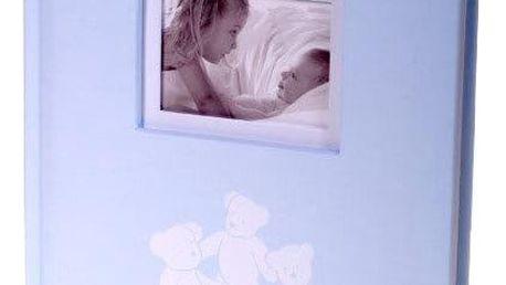 KARPEX Exkluzivní dětské fotoalbum 10x15/200 foto LUCKY BEARS, Modré