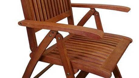 Texim Mimosa eukalyptová polohovací židle