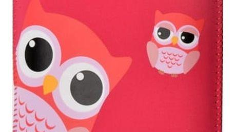 """Pouzdro na mobil FIXED Owlet, XXL (vhodné pro 4,7"""" - 5"""") (RPVEL-054-XXL) červené"""