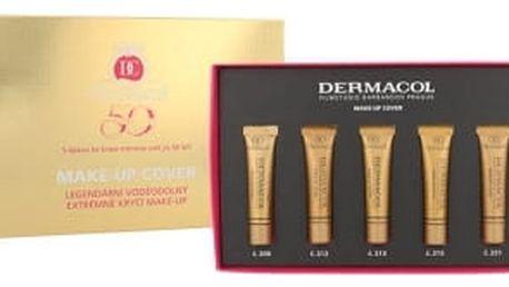 Dermacol Make-Up Cover SPF30 dárková kazeta pro ženy makeup 5x 5 ml
