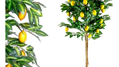 MAX 1408 Umělá květina strom - citronovník - 184 cm