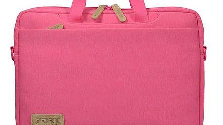 Brašna na notebook PORT DESIGNS Torino Toploading pro 13,3'' (140401) růžová