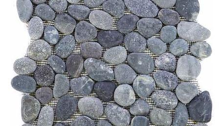 Divero Garth 27445 Mozaika říční oblázky - šedá - 1x síťka
