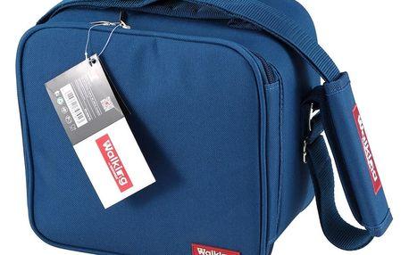Modrá obědová taška Bergner Cube