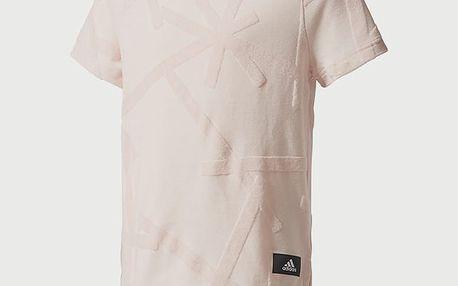 Tričko adidas Performance YG ID BOXY TEE Bílá