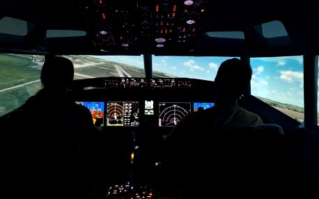 Zalétej si na simulátoru letounu Boeing 737Max