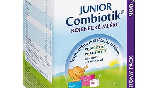 4x HIPP 3 JUNIOR Combiotik (900 g) - pokračovací mléčná kojenecká výživa