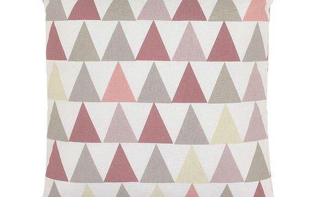 Polštář Art For Kids Pink Triangles