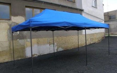 Tradgard DELUXE 41508 Zahradní párty stan nůžkový - 3 x 6 m modrá