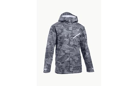 Bunda Under Armour Coldgear $200 Snow Shell Jacket Šedá