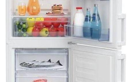 Kombinace chladničky s mrazničkou Beko CSA 240 M21W bílá + Doprava zdarma