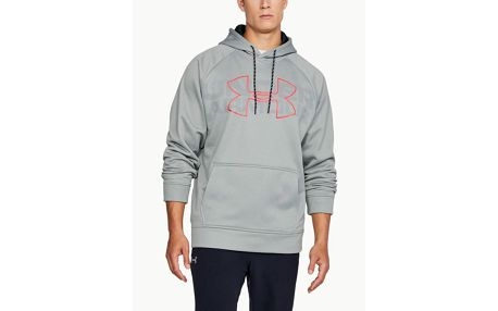 Mikina Under Armour AF Graphic PO Hoodie Šedá