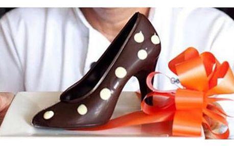 3D Forma na čokoládu - dámská lodička