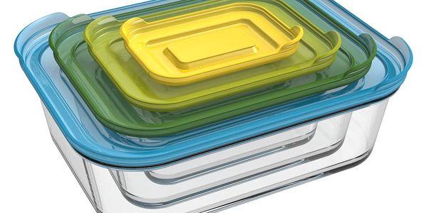 Skleněné misky na potraviny Joseph Joseph Nest