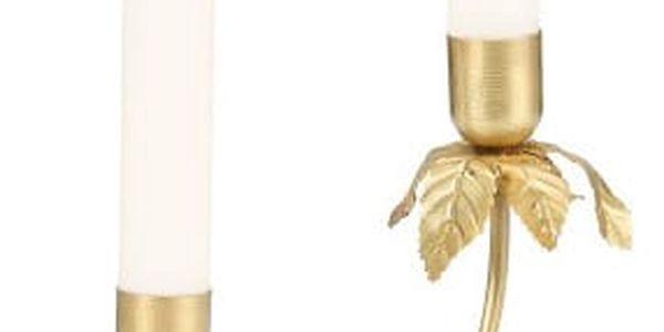 Dekorativní svícen zlaté barvy A Simple Mess Stilk