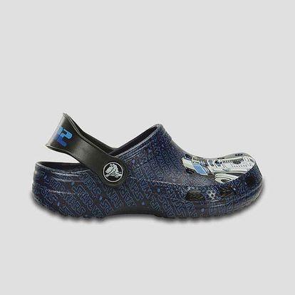 Sandály Crocs Classic Star Wars R2D2 C3PO Nnvy Modrá