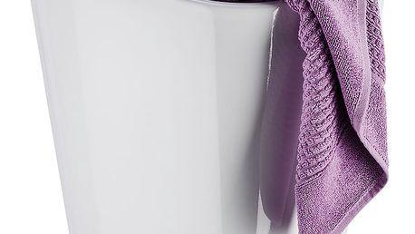 Bílý koš na prádlo a taburetka v jednom Wenko Candy