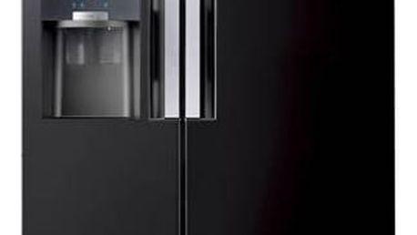 Kombinace chladničky s mrazničkou Samsung RS7768FHCBC/EF černá + Doprava zdarma