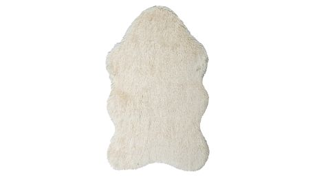 Krémový kožešinkový koberec Floorist Soft Bear,70x105cm