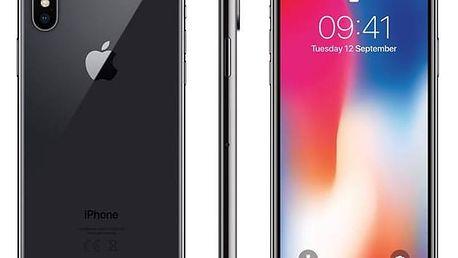 Mobilní telefon Apple iPhone X 64 GB - Space Gray (MQAC2CN/A) Software F-Secure SAFE 6 měsíců pro 3 zařízení (zdarma) + Doprava zdarma