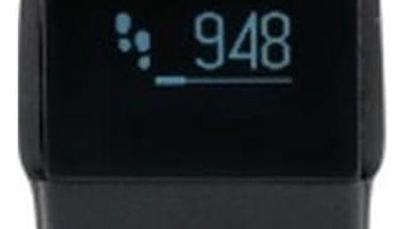 Černý fitness náramek XD Design