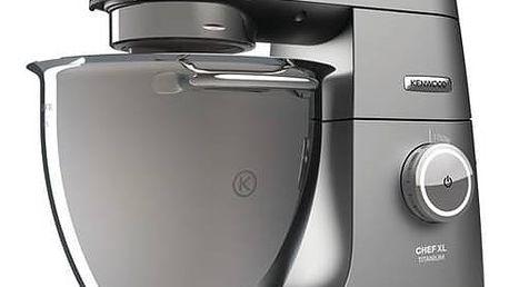 Kuchyňský robot Kenwood Chef XL Titanium KVL8400S šedý + Doprava zdarma