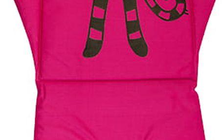 G-MINI Paměťová podložka do kočárku, růžová kočka