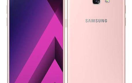 Mobilní telefon Samsung Galaxy A5 (2017) (SM-A520FZIAETL) růžový Software F-Secure SAFE 6 měsíců pro 3 zařízení (zdarma) + CASHBACK + Doprava zdarma