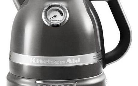 Rychlovarná konvice KitchenAid Artisan 5KEK1522EMS šedá barva + Doprava zdarma