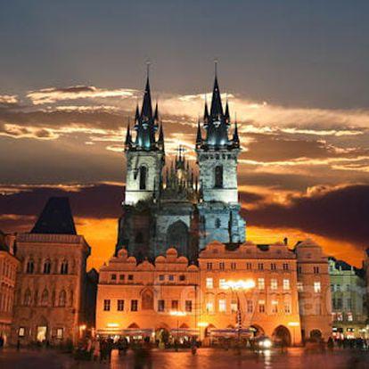Pobyt v Praze ve výjimečném 4* hotelu pro dva se snídaní nebo polopenzí