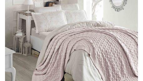Pudrově růžová deka Homemania Laura - doprava zdarma!