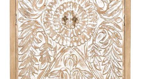 Dvoudveřová šatní skříň z mangového dřeva Massive Home Sweet - doprava zdarma!