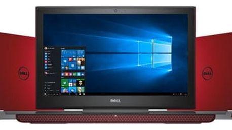Notebook Dell 15 7000 (7567) (N-7567-N2-512R) červený Software F-Secure SAFE 6 měsíců pro 3 zařízení v hodnotě 979 Kč + DOPRAVA ZDARMA