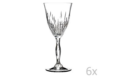 Sada 6 sklenic RCR Cristalleria Italiana Mariella