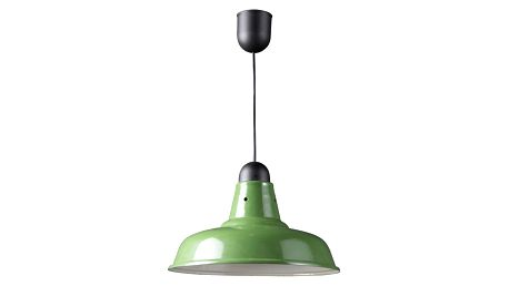 Zelené stropní stínidlo Novita Green
