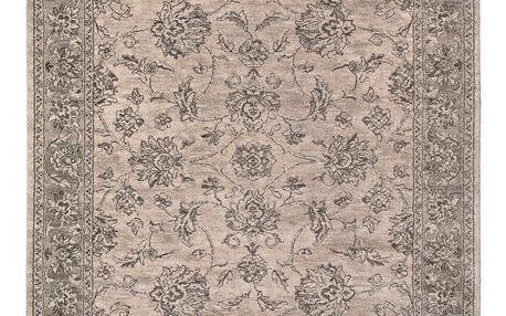 Šedobéžový koberec Universal Opus Rose, 160x230cm - doprava zdarma!
