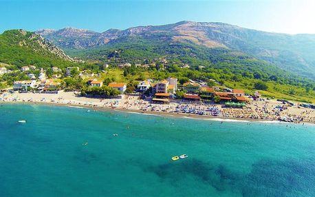 Černá Hora, Budvanská riviéra, letecky na 8 dní
