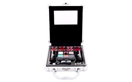 2K Beauty Basic Train Case dekorativní kazeta dárková sada W - Complete Makeup Palette