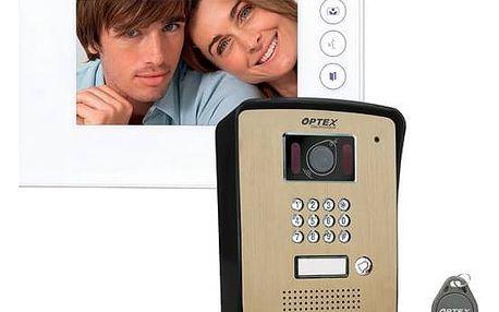 Dveřní videotelefon OPTEX 990275 + Doprava zdarma