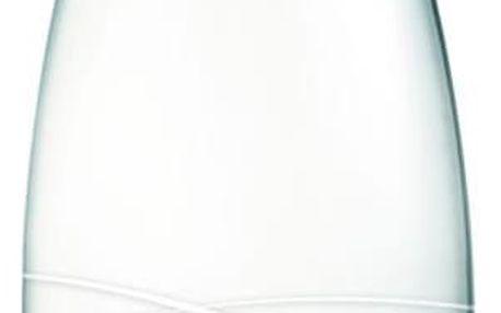 Světle růžová skleněná lahev ReTap s doživotní zárukou, 800ml