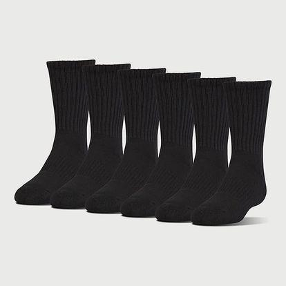 Ponožky Under Armour Charged Cotton 2.0 Crew Barevná