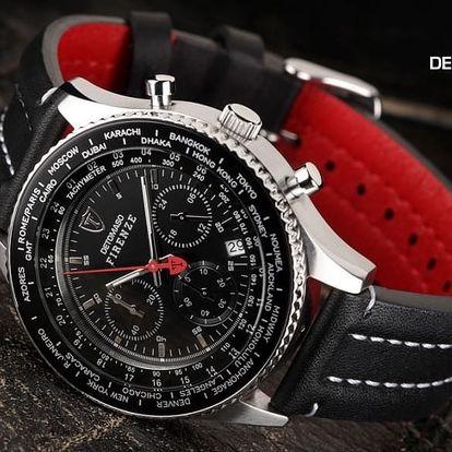Luxusní pánské hodinky DeTomaso v originálním dárkovém boxu