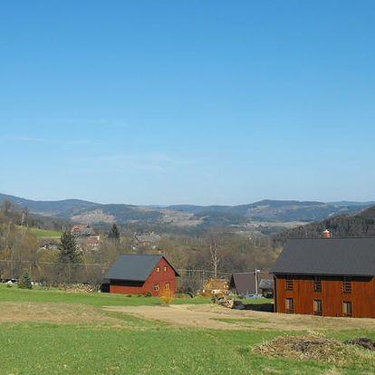 Jaro v Krkonoších: pronájem chalupy až pro 12 osob na 4 dny