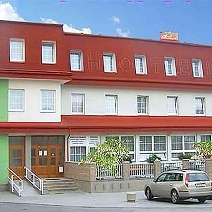 3–6denní pobyt pro 2 osoby s polopenzí a vínem v hotelu Alf*** v jižních Čechách