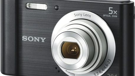 Digitální fotoaparát Sony DSC-W800B Black