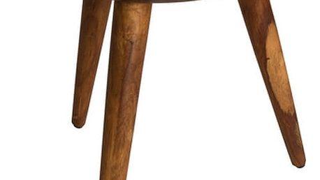 Dřevěný stolek Dutchbone Hand - doprava zdarma!