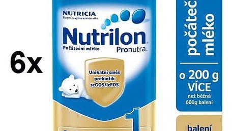 Kojenecké mléko Nutrilon 1 Pronutra, 800g x 6ks + Doprava zdarma