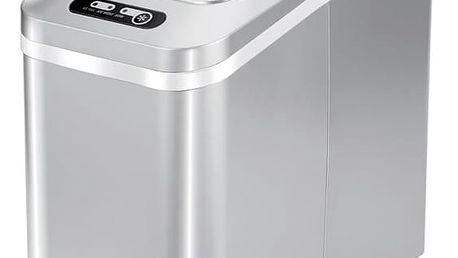 Výrobník ledu Guzzanti GZ 121 stříbrný + DOPRAVA ZDARMA
